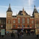 Llegar en tren a Amsterdam