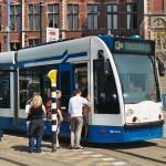 Tranvías en Amsterdam