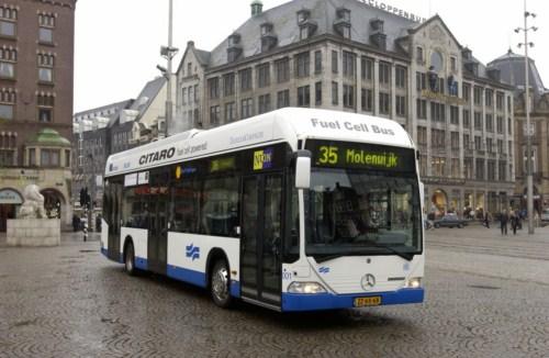 Autobuses en Amsterdam