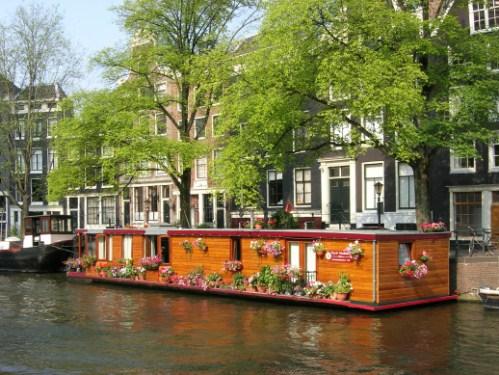 Casas Flotantes en Amsterdam